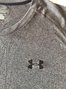 Under Armour Men's 4XL Heatgear T-shirt Gray