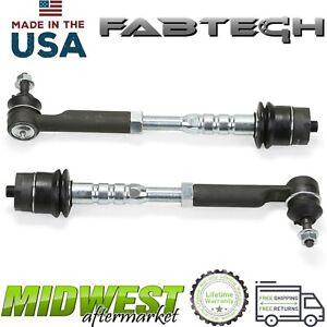 Fabtech Heavy Duty Tie Rods Fits 2001-2010 GM Silverado Sierra 2500 3500 HD