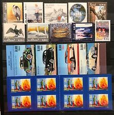 Aland Finland Year Set 2005 MNH Complete with 2 Booklets  - EXCELLENT!