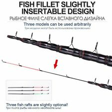 Fishing Rod Telescopic Feeder Carbon Tip 180g 3.3m 3.6m Traveling Spinning Stick