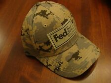FedEx Ground Camo Ball Cap New with adjustable size great quality hat