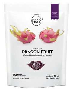 100% Dragon Fruit Natural Freeze Dried Fruit Snacks Drying No Sugar Dehydrated