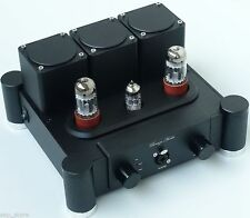 Finished E-200 Pure tube Class A headphone amplifier 6SN7 X2 + 12AX7  HL-52