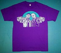 New v Purple Aqua Belly Nas DMX shirt for air  jordan grape 5  Cajmear sz L