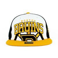 Boston Bruins NHL 47 Brand Triple Block MVP Snapback Authentic Hat