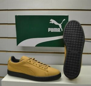 Men's Puma Suede Classic Winterized Biscuit Brown Leather Fashion Retro Trainers