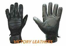 Men's Motorcycle Gloves Rugged Style Full Fingers Size Medium