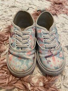 Glitter Mermaid Vans Sneakers Toddler 7