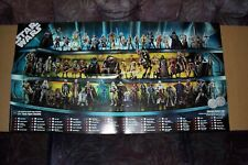 star wars 30th anniversary action figure collection poster