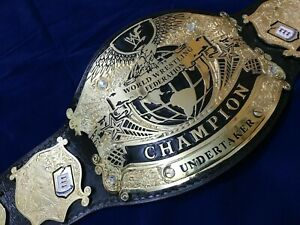 NEW CHAMPIONSHIP BELT WWF UNDISPUTED UNDERTAKER WORLD WRESTLING REPLICA BELT 2mm
