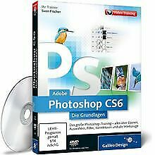 Adobe Photoshop CS6 - Die Grundlagen (PC+MAC) by ... | Software | condition good