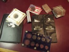 box of used coin supplies, see list in item description ALMOST free, LOL
