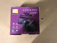 Nikon COOLPIX L840 Digital Camera (Purple) new