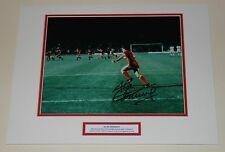 Alan Kennedy Liverpool 1984 Firmado Autógrafo Foto Montaje Pantalla + certificado De Autenticidad prueba