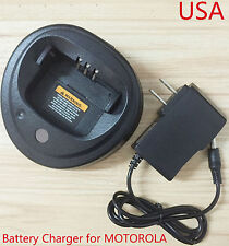 Radio Battery Charger for MOTOROLA NNTN4496 NNTN4851 CP380,EP450,GP3138,GP3688