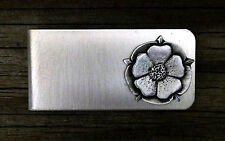 Tudor Rose Money Clip -English/Rose/Handcrafted #0670