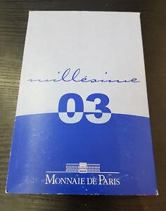 France Coffret Officiel BE Proof 8 Pièces 2003