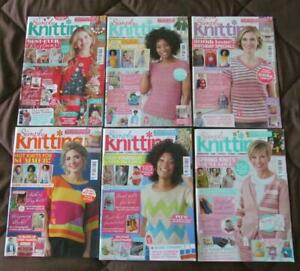 Lot of 6 SIMPLY KNITTING Magazines issue 197/198/199/200/201& 204 #76-mag