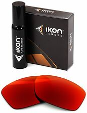 Polarized IKON Iridium Replacement Lenses For Oakley Jupiter Squared LX + Red