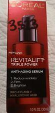 L'Oreal Paris Revitalift Triple Power Concentrated Serum Treatment 1oz Nib!