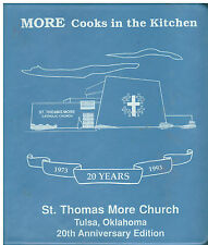 TULSA OK 1993 ST THOMAS CATHOLIC CHURCH * ETHNIC COOK BOOK COOKS IN THE KITCHEN