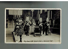 1910 Minehead England to RPPC Postcard Cover King edward VII Lying in State