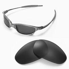 New Walleva Polarized Black Lenses For Oakley Juliet