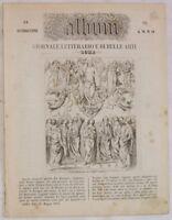 1854 ALBUM ROMA ASCENSIONE GESU CRISTO PERUGINO PERUGIA