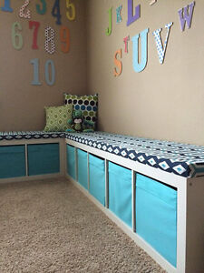"""Bench Cushion """"Covers Only"""", Window Seat Cushion """"Covers Only"""", Play room, Entry"""