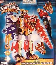 Power Rangers Dino Thunder Deluxe Thundersaurus Megazord 3 Zords Combine SEALED