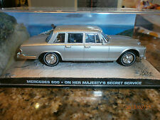 James bond car collection Mercedes 600 OHMSS
