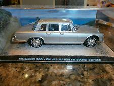 James bond car collection Mercedes 600 OHMSS