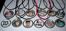 15  ONE DIRECTION PARTY SUPPLY  FAVORS BOTTLE CAP NECKLACE WITH CORDS