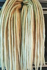 Wool Dreadlocks Custom Wool Dreads set of 50 Double Ended 48 inch total
