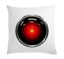 2001 Space Odyssey Hal 9000 Stylish White Pillow Case Cushion Cover 40 cm