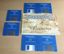 AMIGA: Zeppelin: Géants of the Sky-ikarion software 1995