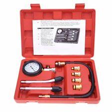 8pc Cylinder Compression Gauge Diagnostic Tester Gas Petrol Engine Tester Tool G