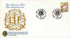 South Africa 1981 Lions International Fund Convention Port Elizabeth FDC VGC