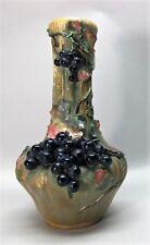"Signed 15"" AMPHORA (Bohemian) EDDA Vase PAUL DASCHEL  c. 1900  antique pottery"