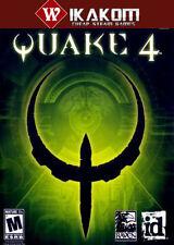 Quake IV Vapor Digital Sin Disco/Caja ** entrega rápida! **