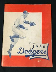 1950 VINTAGE BASEBALL BROOKLYN DODGERS YEARBOOK JACKIE ROBINSON SNIDER 112320