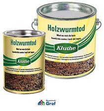 Kluthe Holzwurmtod 2,5 L, Holzschutzmittel gegen Holzwürmer Holzschutz /#873003