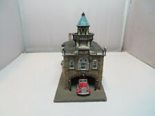 Danbury Mint Relief Fire Engine Company No 1 Mount Holly New Jersey Firehouse