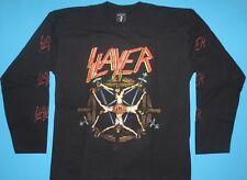 Slayer - Circle of Beliefs T-shirt Long Sleeve size L NEW Pentagram