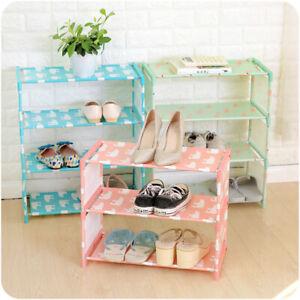 1pc 3 Tier Storage Shoe Rack Hallway Organizer Shoe Cabinet Shelf Home Furniture