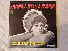 CD 4 TITRES BRIGITTE BARDOT L'APPAREIL A SOUS (Serge Gainsbourg) VINYL REPLICA