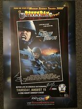 RiffTrax Live: Starship Troopers - Autographed Poster!