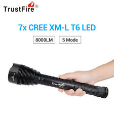 TrustFire TR-J18 8000LM Cree XML 7 T6 LED Tactical Flashlight Torch Light 5-Mode