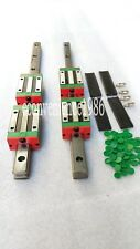 2 sets HGR25-800mm Hiwin Liner rail & 4 pcs HGH25CA Block Bearing