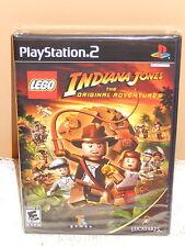 LEGO Indiana Jones Original Adventures Playstation 2 PS2 2008 RARE Sealed New